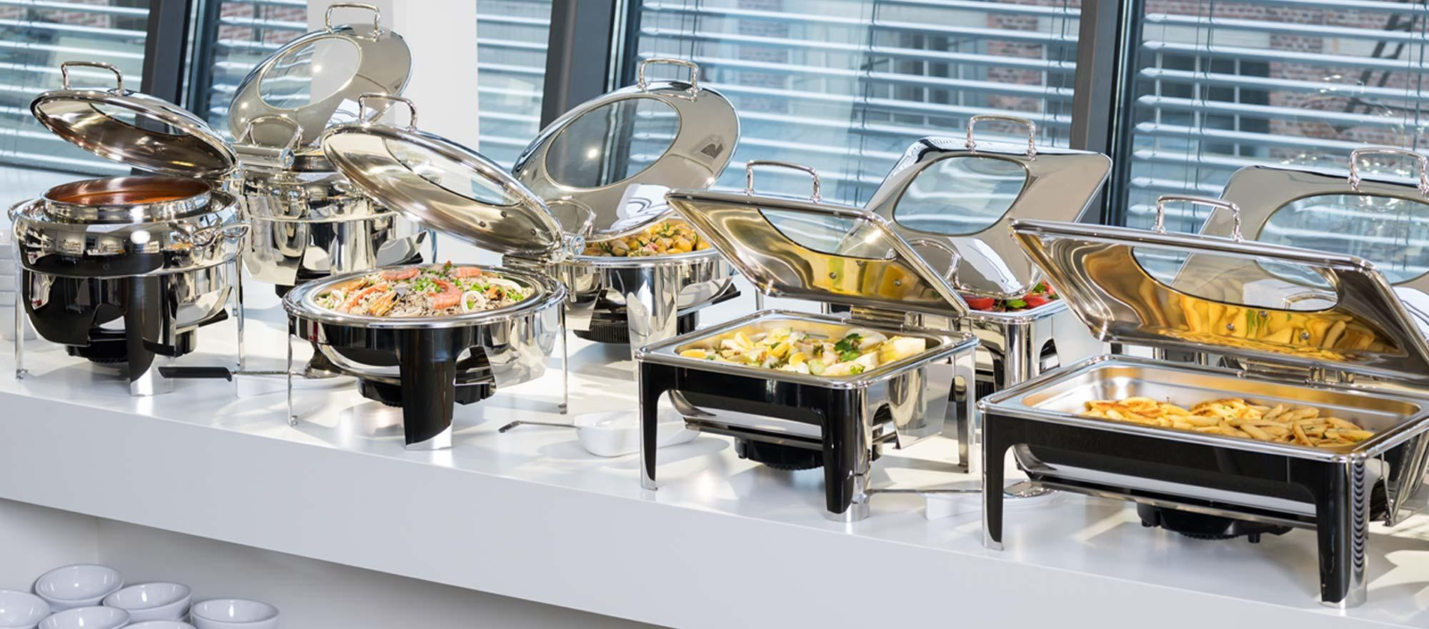 Chafing Dish, Cubetas GN & Transporte