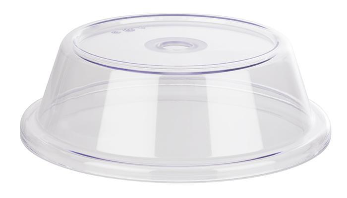 cubierta para plato 22 x 22 x 7 cm