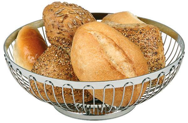 cesta para pan o fruta 18 x 18 x 7 cm