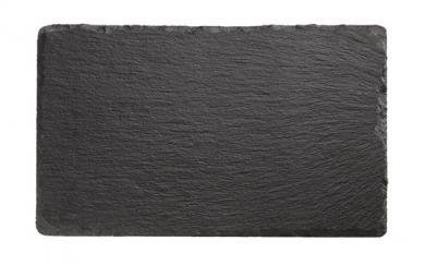 bandeja de pizarra natural 24 x 15 x 1 cm