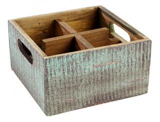 caddy de mesa 17 x 17 x 10 cm