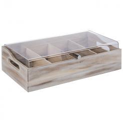 """caja de cubiertos con tapa """"VINTAGE"""""""