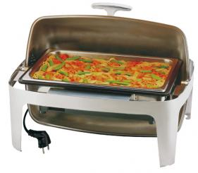 chafing dish eléctrico rolltop