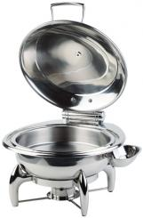 Chafing Dish, redondo