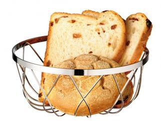cesta para pan o fruta 18 x 18 x 7,5 cm