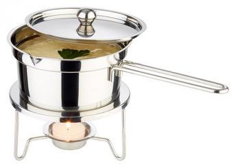 calentador de mantequilla y salsa