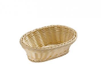 cesta de buffet oval 23 x 16,5 x 9 cm