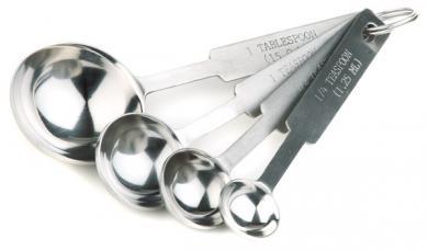 juego de cucharas medidoras