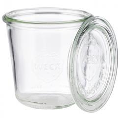Weck tarros de vidrio con tapa, set de 6