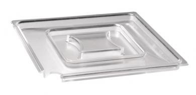 tapa, con espacio para la cuchara 19 x 19 x 1,3 cm